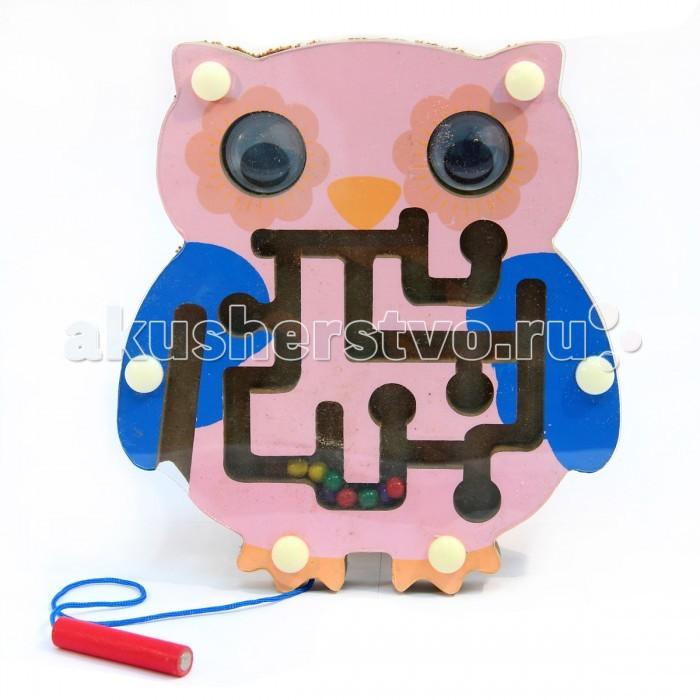 Деревянная игрушка Фабрика фантазий рамка-лабиринт Сова