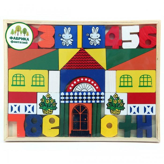 Деревянная игрушка Фабрика фантазий конструктор Город 41779