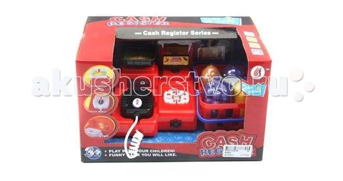 Shantou Gepai Касса электронная свет+звукКасса электронная свет+звукИгрушка для сюжетно-ролевых игр, выстроенных по типу продавец-покупатель.   В такой игре могут участвовать несколько детей или взрослый и ребенок.  Кассовый аппарат оборудован сканером и весами.  Звуковые и световые эффекты.  Игрушка работает от батареек (в комплект не входят).<br>