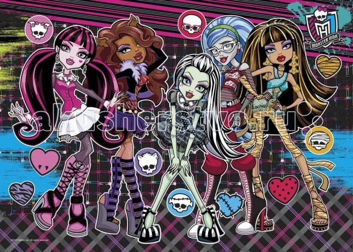 Origami Пазлы 500 Monster High 3