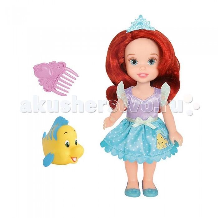 Disney Princess Кукла Принцессы Дисней Малышка с питомцем Ариэль 15 см