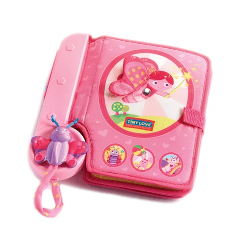 Книжки-игрушки Tiny Love Интерактивная развивающая книжка Tiny Princess