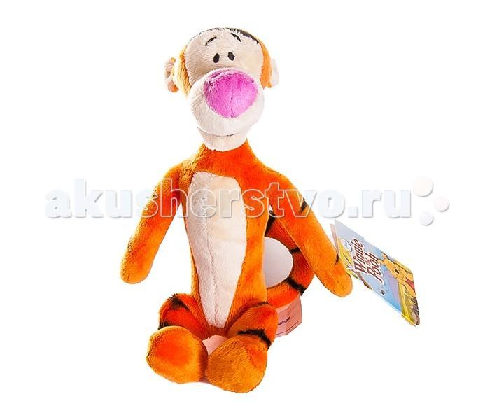 Мягкая игрушка Disney Тигруля 17 смТигруля 17 смМягкая игрушка Disney Тигруля 17 см отличный подарок как для ребёнка, так и для взрослого человека, ведь все мы выросли на замечательных произведениях английского писателя Алана Александра Милна.  Мягкая игрушка в виде гиперактивного тигра Тигрули, героя знаменитой книжки про Винни-Пуха и всех-всех-всех, а также диснеевских мультфильмов по ее мотивам, станет прекрасным товарищем по играм для непоследливого малыша. А когда игры утомят, с тигром можно и заснуть в обнимку.<br>