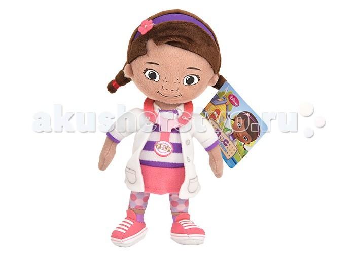 Мягкая игрушка Disney Доктор Плюшева 25 смДоктор Плюшева 25 смМягкая игрушка Disney Доктор Плюшева 25 см из знаменитого детского мультфильма от студии Walt Disney Доктор Плюшева обязательно понравится Вашей малышке и подарит ей массу положительных эмоций.  Милая и дружелюбная Доктор Плюшева постоянно заботится о самочувствии своих любимых друзей-игрушек. Она всегда придет на помощь и вылечит даже серьезную болезнь, подбодрит улыбкой и ласковым словом. Мягкая игрушка Доктор Плюшева высотой 25 см сшита из высококачественного текстиля и плюша, проверенного на безопасность для ребенка.  Игрушка не содержит никаких острых и твердых деталей, не страшно брать с собой в постель.<br>