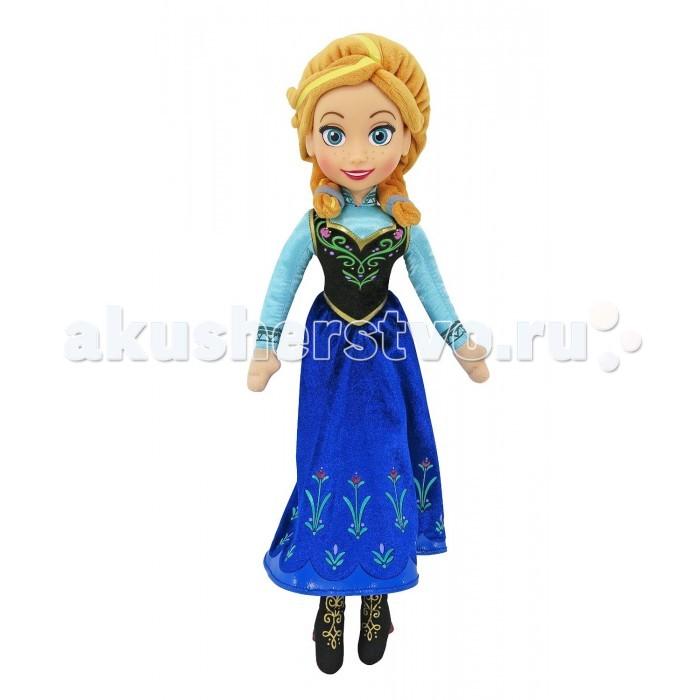 Disney Кукла Холодное сердце функциональная Принцесса Анна 35 смКукла Холодное сердце функциональная Принцесса Анна 35 смDisney Кукла Холодное сердце функциональная Принцесса Анна 35 см функциональная кукла принцесса Анна, исполняющая песню своей героини из мультфильма на английском языке.   Для того, чтобы куколка запела необходимо нажать на кнопочку, находящуюся на корпусе куклы.  У куклы очаровательные большие глаза, четко прорисованные яркими красками. Кукла одета в соответствии со своим экранным персонажем. У нее длинное платье, яркая накидка и черные сапожки с золотистым ажурным узором. Волосы куклы рыжего цвета и изготовлены из плюша.  Личико куклы выполнено из приятного на ощупь пластика, а волосы и сама кукла - мягконабивные.<br>