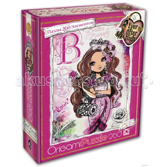 Origami Пазлы 260 Ever After High 00674