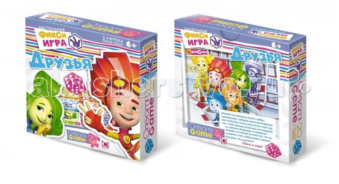 Origami Настольная игра Фиксики ДрузьяНастольная игра Фиксики ДрузьяOrigami НПИ Фиксики. Друзья.  Настольная игра Друзья поможет ребенку развить ассоциативные способности. В набор входят парные карточки: герои мультфильма Фиксики и предметы, в которые они превращаются и ассоциируются.<br>