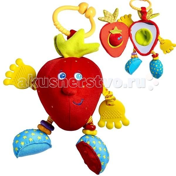 Подвесная игрушка Tiny Love Развивающая Клубничка Салли (серия Друзья фрукты)