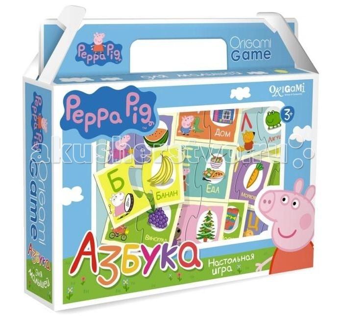 Origami Настольная игра Peppa Pig Азбука