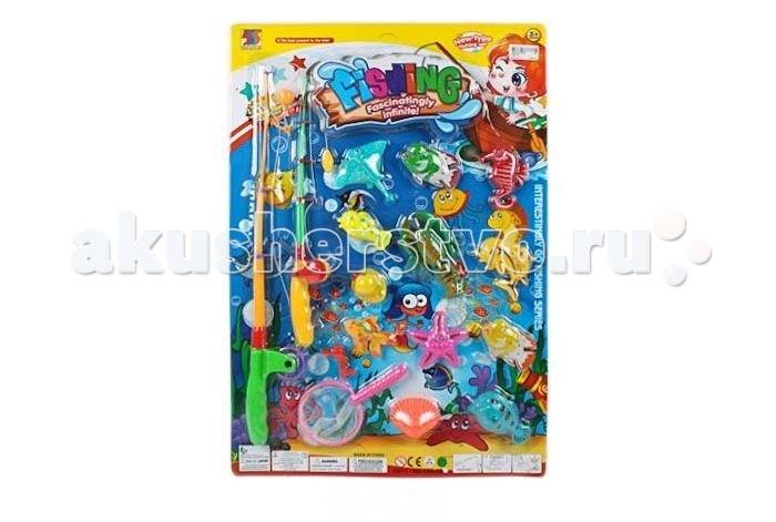 игрушка рыбалка магнитная с удочкой