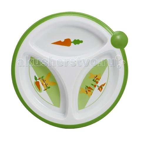Посуда Dr.Brown's Тарелка трёхсекционная, 2 шт.