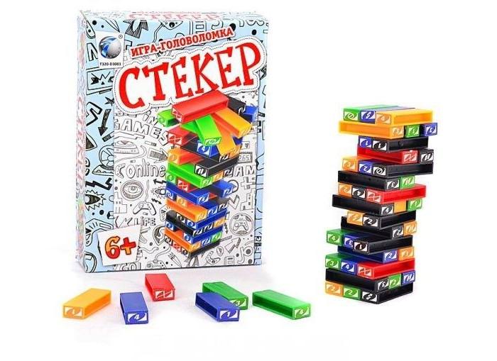 Shantou Gepai Настольная игра СтекерНастольная игра СтекерНастольная игра для малышей.  Изготовлено из качественных, безопасных для детей материалов.  Для детей от 6 лет.<br>