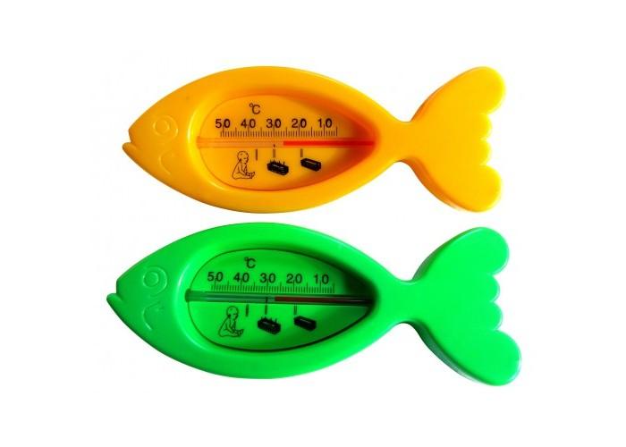 Термометр для воды Бусинка РыбкаРыбкаТермометр для воды Бусинка Рыбка   Термометр используется для измерения температуры воды при купании ребёнка.   Термометр изготовлен из нетоксичного высококачественного крепкого пластика, стойкого к температуре 100°С.  Прост в использовании: уровень оптимальной температуры отмечен специальным значком.  Не содержит ртути.<br>