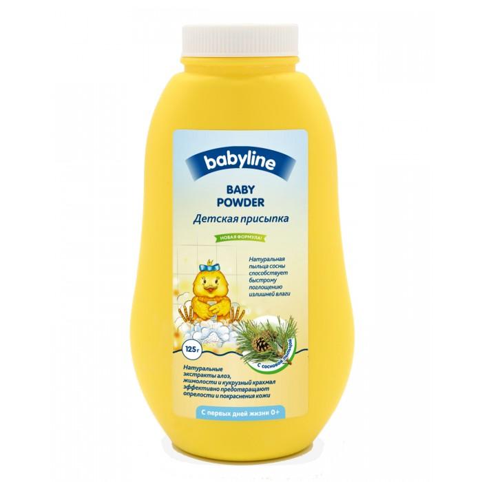 Babyline Детская присыпка с сосновой пыльцой 125 гДетская присыпка с сосновой пыльцой 125 гBabyLine Nature Детская присыпка с сосновой пыльцой  Детская присыпка с сосновой пыльцой рекомендована для чувствительной кожи в области подгузника.  Присыпка содержит натуральную пыльцу сосны, что способствует быстрому поглощению влаги. Натуральные экстракты алоэ, жимолости и кукурузный крахмал мягко заботятся и предотвращают опрелости и покраснения кожи.  Способ применения: наносите присыпку на ладонь, а затем на чистую, предварительно подсушенную кожу малыша в области складочек.  Детям с рождения до 3 лет.<br>
