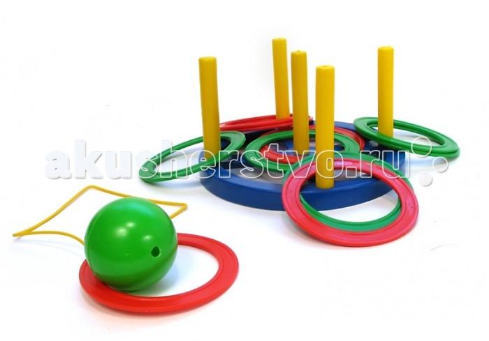 Развивающая игрушка Плэйдорадо Кольцеброс + Поймай шарик игра 2 в 1Кольцеброс + Поймай шарик игра 2 в 1Кольцеброс + Поймай шарик Плэйдорадо - это две спортивных игры в одном наборе. Прекрасно развивают координацию движений. Стимулируют двигательную активность. Игра Кольцеброс. Цель играющих — набросить кольца с установленного расстояния на один из четырех вертикальных стержней, так чтобы кольца оказались надетыми на стержень. Прекрасно развивает координацию движений. Стимулирует двигательную активность. Игра Поймай шарик. Цель играющих — поймать подброшенный шарик так, чтобы он прошел сквозь кольцо.  Основные характеристики:  Размер упаковки: 220х220х120 мм Вес: 0,268 кг<br>