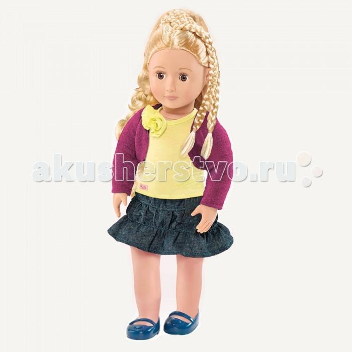 Our Generation Dolls Кукла делюкс 46см с растущими волосами ФибиКукла делюкс 46см с растущими волосами ФибиOur Generation Dolls Кукла делюкс 46см с растущими волосами Фиби.  Долой однообразие! Стань модным стилистом! Набор выпускается с 2 полными комплектами одежды и множеством веселых предметов из моей книги. Кукла с растущими волосами Платье Лента на голову с цветочком Жилет Пояс Комплект нижнего белья Пара туфелек Расческа 2 удлиняжщие прядки 2 заколки для волос в форме сердечек Каталог в мир стильных причесок Каталог модной одежды.<br>