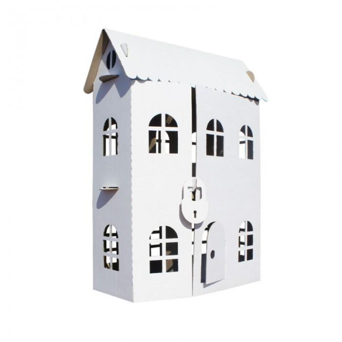 Балуем и Балуемся Домик-раскраска Домик принцессыДомик-раскраска Домик принцессыБалуем и Балуемся Домик-раскраска Домик принцессы - это большое двухэтажное здание из белого картона можно назвать настоящим дворцом.  Куклы, мишутки и другие любимые игрушки крохи станут постоянными жильцами этого дома.   Игра поставляется в разобранном виде, но при сборке не нужен клей или какие-то приспособления.   Чтобы домик-раскраска стал уникальным и красивым, его можно разрисовать карандашами, красками или фломастерами.<br>