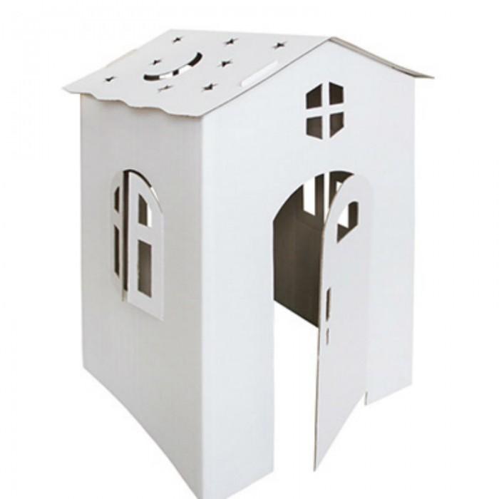 Игровой домик Балуем и Балуемся раскраска Коттедж