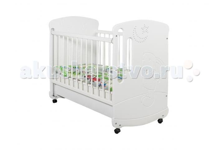 Детская кроватка Сиди-М №6 Зайка