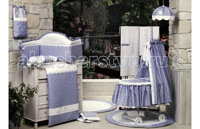 Одеяло BabyPiu Нежность - Одеяло из ткани пике с вышивкой 75х90 для люлькиНежность - Одеяло из ткани пике с вышивкой 75х90 для люлькиТовары компании Babypiu реализованы по эксклюзивным дизайнам, из тканей первого сорта, с высоким качеством пошива и полностью изготавливаются в Италии.<br>
