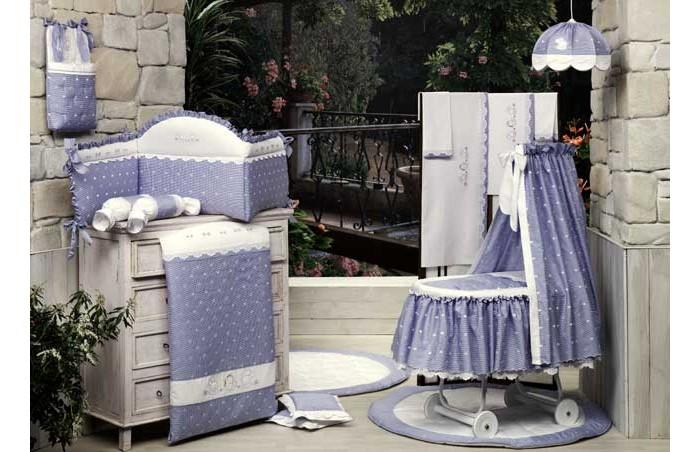 Одеяло BabyPiu Нежность - Одеяло из ткани пике с вышивкой 150х115 для кроватки