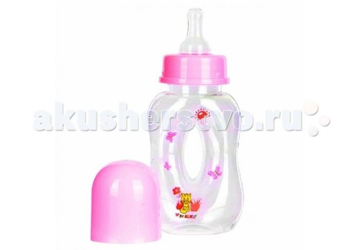 Бутылочка Бусинка пластик Бублик 120 мл