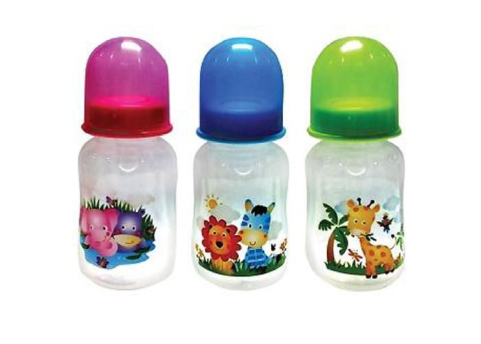 Бутылочка Бусинка пластик 125 мл 109