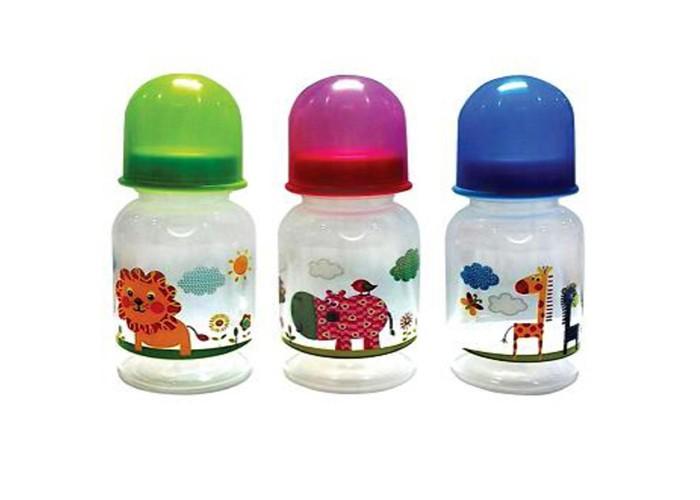 Бутылочка Бусинка пластик 125 мл 107