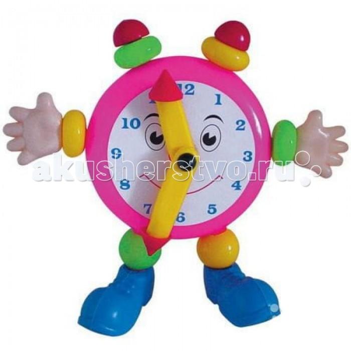 Развивающая игрушка Плэйдорадо Веселые ЧасыВеселые ЧасыИгрушка Плэйдорадо Веселые часы, познакомит вашего ребенка с часами, минутной и часовой стрелками, циферблатом и цифрами от одного до двенадцати. Вы сможете рассказать ребенку на примере веселых часиков с глазками, ручками и ножками, как правильно распознавать время, что показывают длинная и короткая стрелки. Милая игрушка станет украшением интерьера детской комнаты, ведь она очень стильная и яркая.  Основные характеристики:  Размеры: 260x90x210 мм<br>