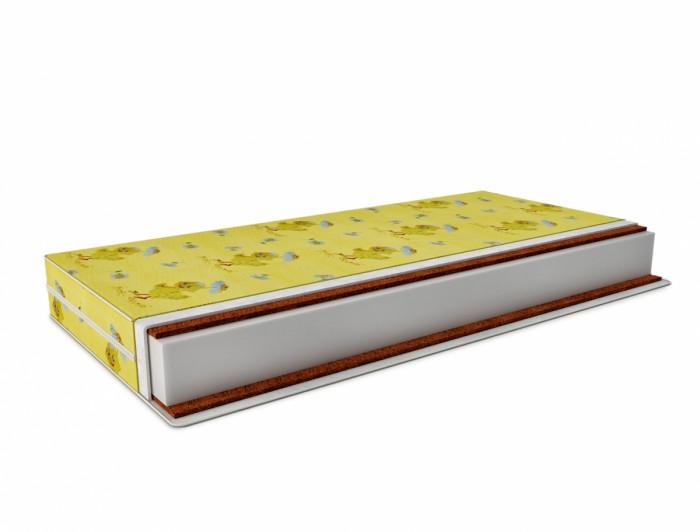 Матрас Татами Кокос-ортопед (бязь) 120х60 смКокос-ортопед (бязь) 120х60 смМатрас Татами Кокос ортоформ жесткий с двух сторон.  Особенности: Изделие выполнено из би-кокоса, внутри матраса расположен холлкон высотой 8 см.  Благодаря ортопедическому эффекту, нагрузка от веса человека распределяется по всему матрасу.  Чехол изделия выполнен из 100% хлопка.  Высота изделия 12 см.  При правильной эксплуатации матрас прослужит более 7 лет, в течении которых он не потеряет правильной анатомической формы.  Изделие выполнено из высококачественных гипоаллергенных материалов. Ортопедический матрас изготовлен в России по новейшим передовым технологиям.   Состав:  Съемный чехол на молнии из 100% хлопка.  Бикокос 1 см. Холлкон 1200г/м2 плотностью 1200, бикокос 1 см. Все слои соединены синтепоном.  Свойства: высота матраса 12 см, жесткость: жесткий с двух сторон.<br>