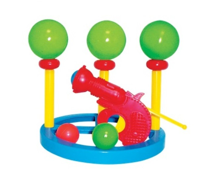 Плэйдорадо Тир с шарамиТир с шарамиТир с шарами Плэйдорадо – это игра на результат, которая учит сосредотачиваться на конкретной задаче, развивает меткость, моторику и координацию движений. Эта веселая игра, одинаково понравится и мальчикам, и девочкам.  Основные характеристики:  Размер: 220x220x120 мм Объем: 0,0035<br>