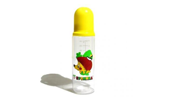 Бутылочка Бусинка пластик 250 мл 1102