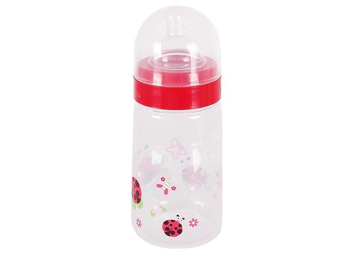 Бутылочка Бусинка пластик с широким горлышком 250 млпластик с широким горлышком 250 млБутылочка для кормления Бусинка пластик с широким горлышком 250 мл. Данная модель изготовлена из безопасного пластика и не содержит бисфенол-А. Бутылочка очень удобна в использовании и уходе.  Предназначена для кормления ребенка молоком или жидкими смесями.  Плотно фиксирующаяся крышка не позволит разлиться жидкости в сумке или коляске.  - яркие цвета и рисунки - силиконовая соска - широкое горлышко для удобного ухода<br>