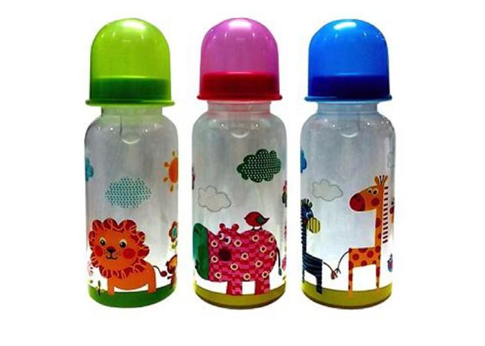 Бутылочка Бусинка пластик 250 мл 106