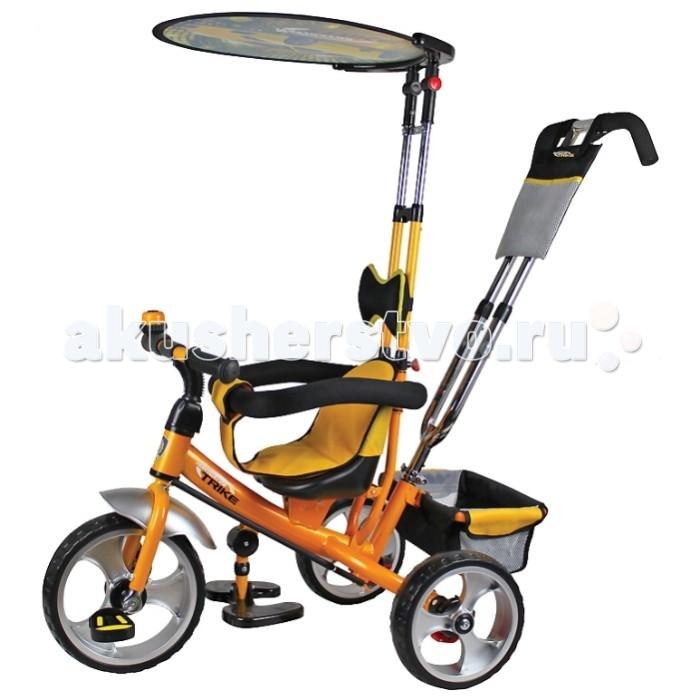 Велосипед трехколесный Navigator Lexus ЛамборджиниLexus ЛамборджиниВелосипед трехколесный Navigator Lexus Ламборджини - это яркий, стильный и абсолютно надежный трехколесный велосипед из прочного пластика и металла.  Превосходная модель для прогулок с малышом.  Особенности: колеса 12/10 дюймов пресованный пенополиуретан звонок тяга регулируемое сиденье свободный ход педалей  независимая управляющая ручка  съемный страховочный обод страховочные ремни, тент, складная подножка,  сумочка, корзина<br>