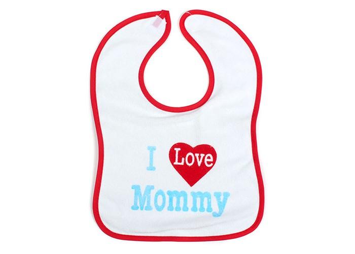 Нагрудник Бусинка махровый на липучкемахровый на липучкеНагрудник махровый на липучке Бусинка   Нагрудник защищает одежду ребёнка во время еды.   Изготовлен из махровой ткани (хлопок с добавлением полиэстера) и мягкой плёнки.  Стирать при температуре 40°С (можно в стиральной машине).   Размер 23х35 см Материал: полиэстер, хлопок  Рисунки в ассортименте.<br>