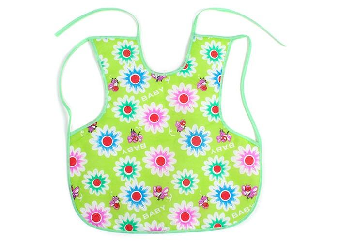 Нагрудник Бусинка на лямках 35х35на лямках 35х35Нагрудник на лямках 35х35 Бусинка   Нагрудник защищает одежду ребёнка во время еды.   Изготовлен из махровой ткани (хлопок с добавлением полиэстера) и мягкой плёнки.  Стирать при температуре 40°С (можно в стиральной машине).   Размер 35х35 см Материал: полиэстер, хлопок  Рисунки в ассортименте.<br>