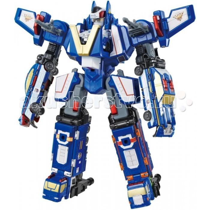 Voov G Робот-истребитель, 5 автомобилейG Робот-истребитель, 5 автомобилейVoov G Робот-истребитель, 5 автомобилей 7 игрушек в одной! Робот составляется из машинок, среди которых есть полицейская машина, полицейский грузовик, 2 гоночные легковые машины, еще один грузовик! А остов робота создается из самолета, который отдельно является полноценной игрушкой.   Игра с набором будет необычайно интересной – помимо трансформации в робота, все машинки трансформеры превращаются в большой полицейский патруль.<br>