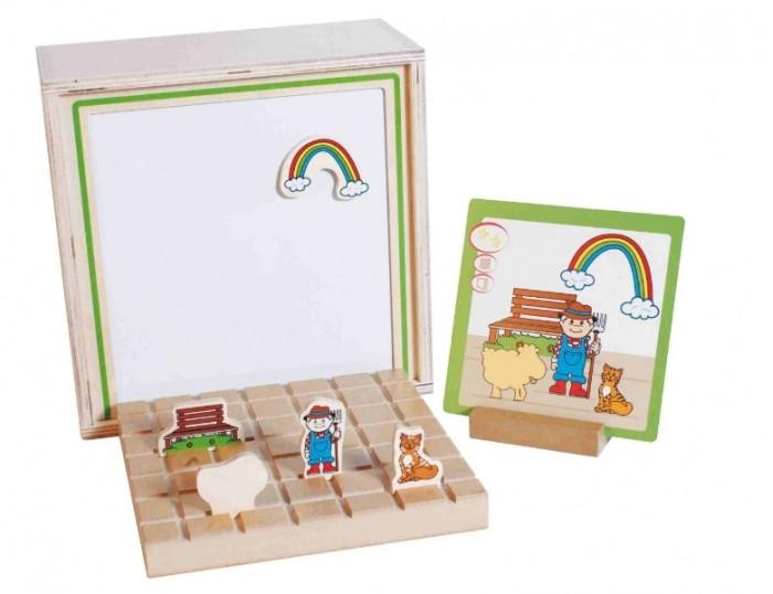 Beleduc Развивающая игра Тополого ВизиоРазвивающая игра Тополого ВизиоBeleduc Развивающая игра Тополого Визио  Особенности: «Рядом», «сзади» или «спереди» - с детской развивающей игрой «ТопоЛого Визио» ребенок сможет воссоздавать двухмерные изображения в трехмерные, а, используя фигуры и проекции, он научится располагать предметы в пространстве.<br>