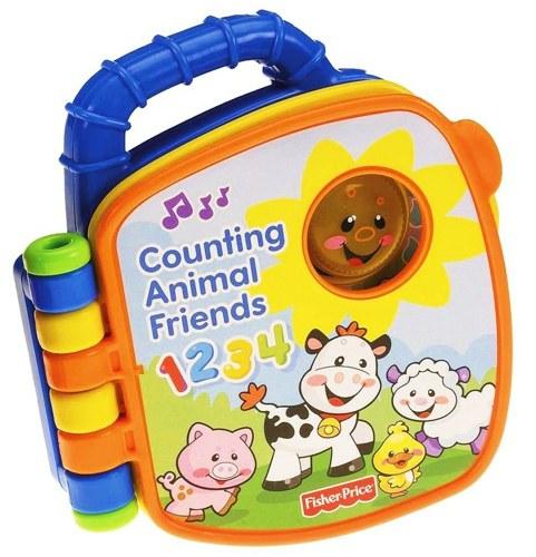 Книжки-игрушки Fisher Price Смейся и учись Книжка-считалочка Друзья на ферме V5080