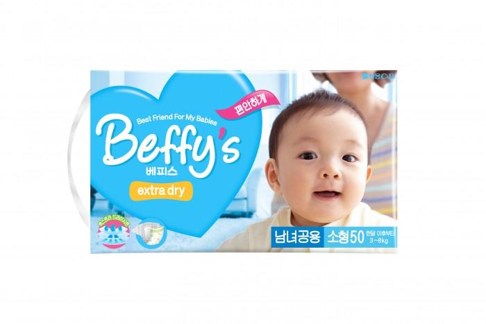 Beffys Подгузники extra dry S (3-8 кг) 50 шт.Подгузники extra dry S (3-8 кг) 50 шт.Подгузники Beffy's Extra dry S (3-8 кг) 50 шт., которые идеально подойдут для малышей с чувствительной кожей. Ультрамягкая прокладка поверхности подгузника и герметичность шва не доставят дискомфорт ребенку, а повышенная эластичность резинки способствует отличной фиксации и превосходному обхвату талии малыша.  Очень важная особенность продукции «Beffy's Extra dry» – наличие разных моделей для мальчиков и для девочек. Разница между ними заключается в том, что при разработке каждой учитывались половые особенности строения детского организма, что, в свою очередь, дарит дополнительный комфорт и гарантирует отсутствие протекания для детей.<br>