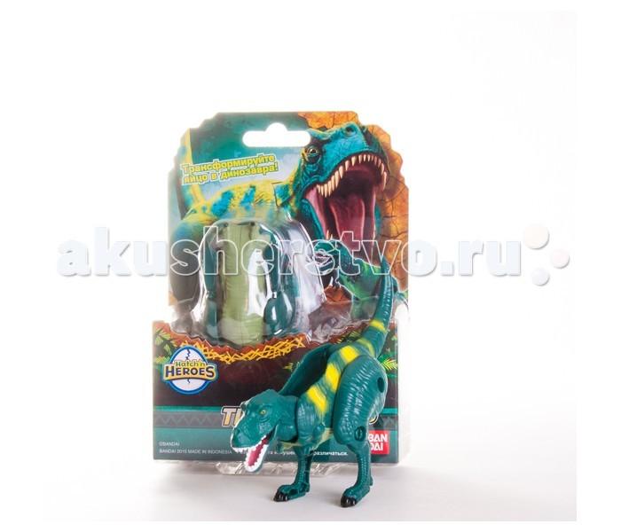 EggStars Яйцо-трансформер ТиранозаврЯйцо-трансформер ТиранозаврEggStars Яйцо-трансформер Тиранозавр раскладывается, превращаясь в свирепого хищника - Тирранозавра! У него подвижные лапы, челюсть и шея. Фигурка окрашена в зеленые тона, качественно прорисована и детализирована. Динозавра можно сложить обратно, превратив в овал.  Тирранозавр - один из самых узнаваемых ящеров, неоднократно появлявшийся в фильмах и ставший воплощением грозных древних хищников.   Фигурка тирранозавра из серии EggStars напоминает настоящего динозавра и станет отличным подарком для всех поклонников доисторического мира!<br>