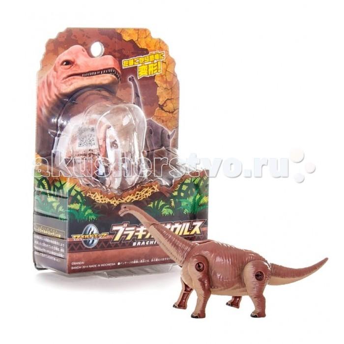 EggStars Яйцо-трансформер БрахиозаврЯйцо-трансформер БрахиозаврEggStars Яйцо-трансформер Брахиозавр. Новая серия трансформирующихся в яйцо фигурок EggStars - Динозавры. Серия предназначена для поклонников доисторического мира, где обитали эти ящеры.  Фигурка Брахиозавра детально повторяет настоящего динозавра и имеет подвижные части тела, благодаря чему может компактно складываться в округлую форму, напоминающую яйцо.  Брахиозавр получил свое название из-за длинных передних конечностей, являясь единственным динозавром, у которого передние конечности были длиннее задних. Это травоядный ящер, обитавший в юрский период. Благодаря длинной шее, он с легкостью дотягивался до верхушек многих деревьев.<br>