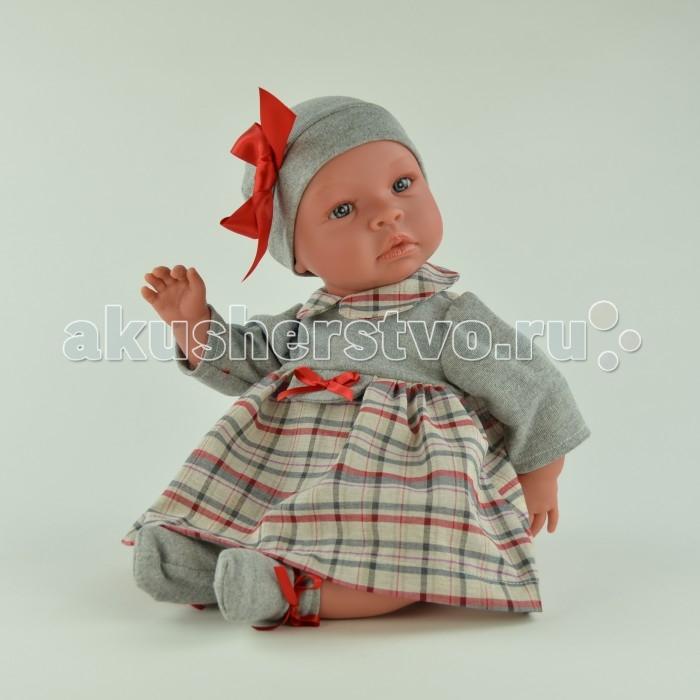 ASI Кукла Лео 50 см 183230Кукла Лео 50 см 183230Пупс, размер 50 см, тело мягконабивное, голова, руки и ноги из винила, без волос, в сером плать в клетку и шапке, в красивой подарочной коробке.<br>
