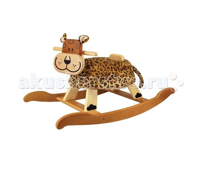 Качалка I'm toy Детская деревянная