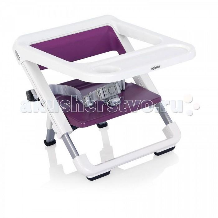Стульчик для кормления Inglesina Brunch портативныйBrunch портативныйПортативный стульчик-бустер Inglesina Brunch, практичный и легкий бустер, может быть установлен практически на любой стул, позволяя ребенку сидеть за одним столом со взрослыми. В сложенном состоянии стульчик принимает компактные размеры. В комплект входит удобная сумка для транспортировки.  Особенности: Может быть установлен практически на любой стул. Практичный съемный поднос можно использовать для кормления даже самых маленьких. 3-ступенчатое регулирование по высоте. Поясничный ремень. Двойное крепление к стулу: к спинке и сиденью. Резиновая, препятствующая скольжению, подложка на переднем держателе предотвращает возможность соскальзывания каркаса со стула. Стульчик принимает исключительно компактные размеры в сложенном сoстоянии. В комплект входит удобная сумка для транспортировки.  Характеристики: Размеры в раскрытом состоянии: 6,5 x 27.5-32.5 x 28-33 см (ширина x высота min-max x длина min-max) Размеры в закрытом состоянии: 36.5 x 6 x 38 см (ширина x высота x длина) Вес с подносом: 2.2 кг Вес без подноса: 1.9 кг Материалы: ABS пластик, PA6 пластик, cополимер полипропилена (поднос).<br>