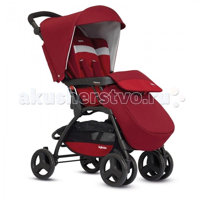 Прогулочная коляска Inglesina EspressoEspressoКомпактная прогулочная коляска Inglesina Espresso гарантирует ребенку максимальный комфорт. Маме и папе прекрасные прогулки благодаря хорошей управляемости. Регулируемая по высоте ручка адаптируется к росту родителей, открывающийся бампер дает возможность легко посадить ребенка в коляску. Благодаря системе складывания по типу книжки Espresso очень компактна и проста в транспортировке.  Прогулочный блок: - предназначен для детей от 6 месяцев до 3-х лет - мягкое сиденье - 3 позиции регулировки спинки до 160 градусов - 5-точечный ремень безопасности с мягкими накладками   Особенности: - Спинка регулируется в 3 позициях и имеет центральную систему регулировки - Габаритная ширина коляски см: 47,5  - Колёса: Резиновые цельные  - Есть сетчатая корзина для покупок - Ремни безопасности: Пятиточечные с мягкими накладками  - Складывание: книжка  - Стояночный тормоз: Планочный, с одной стороны  Вес: 8.6 кг.  Внимание! В моделях 2016 года нет кармана сзади!<br>