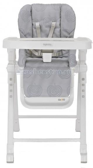 Стульчик для кормления Inglesina GustoGustoСтульчик Inglesina Gusto прекрасный стульчик для кормления, станет незаменимым помощником для родителей.  Особенности:  подходит для малышей которые уже могут самостоятельно сидеть от 6 месяцев до 3-х лет  легко устанавливается и компактно складывается в сложенном виде имеет очень компактные размеры  регулируемый поднос в двух положениях  высота сидения регулируется в 5-ти позициях 3 уровня наклона спинки сидения  текстильная часть сиденья изготовлена из легко моющегося материала поднос съемный  5-ти точечные ремни безопасности   Размеры:  в собранном виде(ширина x min -max высота x глубина): 55 x 80-103 x 77 cm в сложенном виде(ширина x высота x глубина): 55 x 86.5 x 20.5 cm  Вес с подносом: 8.45 кг Вес без подноса: 7.0 кг<br>