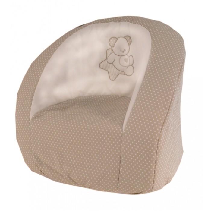 Italbaby Мягкое детское кресло Sweet StarМягкое детское кресло Sweet StarДетское кресло Sweet Star от компании Italbaby невероятно стильное и при этом очень удобное. Оно прекрасно впишется в интерьер детской комнаты.    Устойчивость кресла обеспечивается широкой площадью соприкосновения с полом, а отсутствие острых углов и твердых деталей делает этот предмет мебели абсолютно безопасным.  Вся продукция Italbaby сертифицирована, гипоаллергенна и полностью безопасна для малышей.   Материалы:   Обивка: 100% хлопок Внутреннее наполнение: поролон.  Произведено в Италии.   Вес: 2 кг<br>