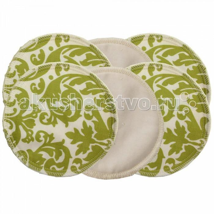 Itzy Ritzy Прокладки для грудиПрокладки для грудиМногоразовые грудные прокладки для кормящих мам 6 штук в комплекте Glitzy Gals™ американской компании Itzy Ritzy  Потрясающе удобные, комфортные прокладки для бюстгальтера Glitzy Gals™ созданы специально для кормящих мам. Особенно актуально это, когда процесс грудного вскармливания только налаживается, а организм молодой мамы подстраивается под потребности малыша. Возникающие излишки молока, подтекающие на нижнее белье способны вызвать дискомфорт и раздражение из-за повышенной влажности на нежной коже груди. Мы за то, чтобы кормление грудью приносило только позитивные эмоции, поэтому мы дополнили наш ассортимент таким полезным аксессуаром как вкладыши для бюстгальтера от уже отлично зарекомендовавшего себя в мировом материнском сообществе бренда - Itzy Ritzy.  Прокладки для бюстгальтера Glitzy Gals™ помогают сохранить правильный баланс влажности на коже, предохраняют вашу одежду. Роскошно-мягкая ткань нежно заботится о здоровье вашей груди.  Прокладка Glitzy Gals™  состоит из трех слоев: верхняя часть  - высококачественный 100% хлопок, внутри тонкий слой – абсорбирующая фланель, нижний слой для деликатного ухода - влаговпитывающая шелковистая вискозно-бамбуковая ткань, которая особенно нежно ощущается на коже.  Диаметр прокладки 11.8 см.  Идеальный размер, который позволяет добиться нужного эффекта.  В упаковке 6 прокладок, или иначе говоря, 3 пары. Таким образом, вы легко сможете составить комплект из такого количества, которое необходимо именно вам.   Грудные прокладки Itzy Ritzy Glitzy Gals™ очень просты в уходе - машинная стирка в прохладной воде, без отбеливания и последующая сушка в обычном (неавтоматическом) режиме. Дизайн варьируется от спокойного однотонного классического до разнообразных ярких расцветок.     Itzy Ritzy Glitzy Gals™ не просто симпатичный аксессуар, это настоящий помощник, способный сохранить ваши нервы в «аварийных» ситуациях, повысить комфорт процесса грудного вскармливания, дополнив его поз